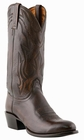 "Mens Lucchese ""Carson"" Antique Walnut Lonestar Calf Cowboy Boots M1023"
