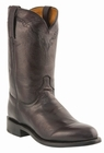 Mens Lucchese Since 1883 Black Cherry Lone Star Calf Leather Roper Boots M1011
