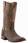 Mens Lucchese Since 1883 Chocolate Sanded Shark M4333