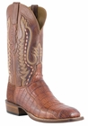 Mens Lucchese Since 1883 Cognac Waxy Ultra Belly Caiman Tail C1061