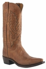 "Mens Lucchese ""Lewis"" Tan Mad Dog Goat Boots M1008"
