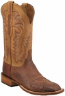 Mens Lucchese Since 1883 Mens Barnwood Burnished Smooth Ostrich Leather Boots C1304