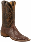 Mens Lucchese Since 1883 Mens Sienna Ultra Crocodile Leather Boots C1001