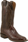 Mens Lucchese Since 1883 Sienna Ultra Crocodile Belly C1051