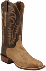 Mens Lucchese Since 1883 Tan Burnished Smooth Ostrich C1303