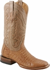Mens Lucchese Since 1883 Tan Mad Dog Hornback Caiman Cowboy Boots M4541/M4542