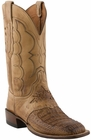 Mens Lucchese Since 1883 Tan Waxy Hornback Caiman C1063