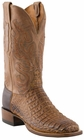 Mens Lucchese Since 1883 Tan Waxy Hornback Caiman C1066