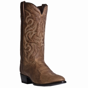 """*NEW* Dan Post Mens """"Milwaukee"""" Mignon Leather Sand Western Boots DP2209"""