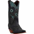 "*NEW* Dan Post Women's ""Wild Bird"" All Leather Black Fashion Boots DP3513"
