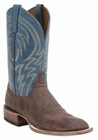 "*NEW* Lucchese Men's ""Alan"" Cognac Calf Leather Horseman Boot M2661"