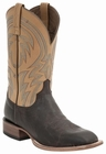 "*NEW* Lucchese Men's ""Alan"" Dark Brown Calf Leather Horseman Boot M2662"