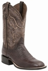 "*NEW* Lucchese Men's ""Burt"" Cigar Smooth Ostrich Horseman Boot M2673"