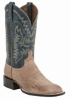 "*NEW* Lucchese Men's ""Burt"" Tan Smooth Ostrich Horseman Boot M2671"