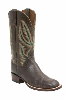 *NEW* Lucchese Men's Heritage Archer Boot - Chocolate H2505
