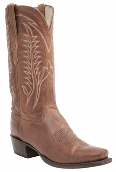 *NEW* Lucchese Men's Heritage Burnet Boot - Cognac Burnished H1506