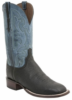 *NEW* Lucchese Men's Heritage Kleberg Boot - Black H2500