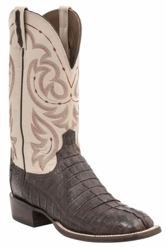 *NEW* Lucchese Men's Heritage McKinney Boot - Barrel Brown Burnished H2005