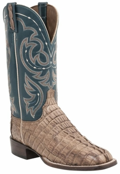 *NEW* Lucchese Men's Heritage McKinney Boot - Tan Burnished Waxy H2004