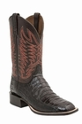 "*NEW* Lucchese Men's ""Logan"" Black Cherry Ultra Belly Caiman Tail Horseman Boot M2665"