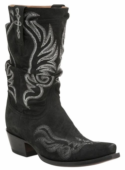 Lucchese Since 1883 Women's Harlowe Boot - Black M4935