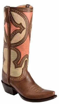 *NEW* Lucchese Since  1883 Womens Leila Boot - Whiskey M4860