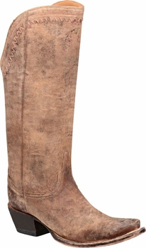 "*NEW* Lucchese Women's ""Vera"" Brown Cowhide Fashion Boot M4952"