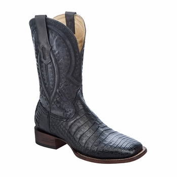 *NEW* Men's Corral Black Caiman Western Boots A2985