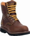 "*NEW* Men's Dan Post ""Scorpion"" Brown Waterproof Leather Work Boots DP68404"
