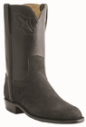 Men�s Lucchese Classics Black Roper with Roman Crown and Torero Pullstrap Sheep L3565
