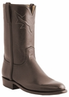Men�s Lucchese Classics Cafe Brown Tanino Calf Roper with Roman Crown and Torero Pullstrap L3567