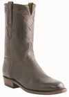 Men�s Lucchese Classics Chocolate Roper with Crosby Band and Kennedy Baby Buffalo L3559