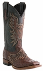 Mens Lucchese Since 1883 Aquila Sienna Full Quill Ostrich Horseman Cowboy Boots M1802