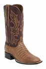 Mens Lucchese Since 1883 Caiman Belly Tan Boot - Shiloh M2679