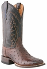 Mens Lucchese Since 1883 Mens Salerno Sienna Full Quill Ostrich Cowboy Boots M1611