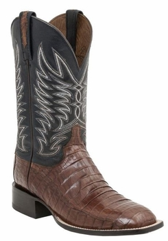 Mens Lucchese Since 1883 Sienna Caiman Belly Tail Boot - Logan M2664_MC2664