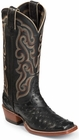 Nocona Boots Ladies Black Full Quill Ostrich Traditional Western Boots LD8501