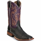 Nocona Boots Mens Black Smooth Ostrich MD6901