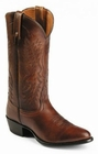Nocona Mens Antique Tan Brush-Off Imperial Calf Cowboy Boots NB2007