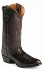 Nocona Mens Black Cherry Brush-Off Imperial Calf Cowboy Boots NB2006
