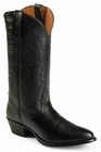 Nocona Mens Black Imperial Calf Cowboy Boots NB2005