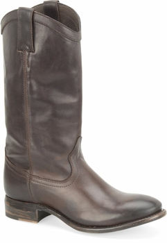 """Sonora® By Double H Womens """"Bailey"""" 12"""" Mahogany Full Grain Leather Boots SN1500"""