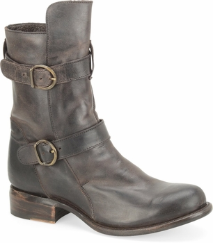 """Sonora® By Double H Womens """"Brooklyn"""" Dark Brown Full Grain Leather Boots SN1300"""