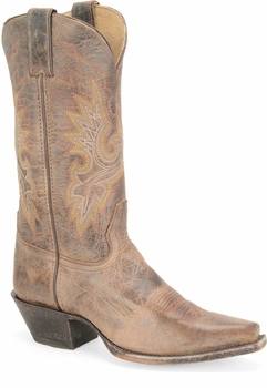 """Sonora® By Double H Womens """"Desert Brilliance"""" 11"""" Chocolate Full Grain Leather Boots SN5223"""