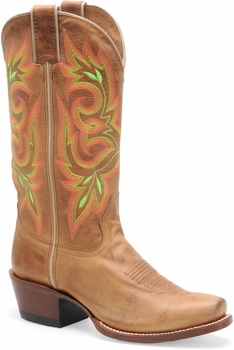 "Sonora® By Double H Womens ""Maya"" 11"" Tan Full Grain Leather Boots SN1008"