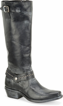 """Sonora® By Double H Womens """"Melinda"""" 14"""" Black Full Grain Leather Boots SN1017"""