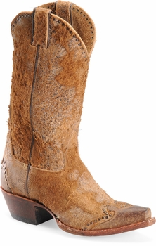 """Sonora® By Double H Womens """"Riley"""" 12"""" Rust Rough-Out Leather Boots SN1042"""