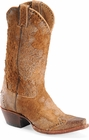 "Sonora® By Double H Womens ""Riley"" 12"" Rust Rough-Out Leather Boots SN1042"