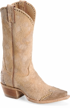 "Sonora® By Double H Womens ""Riley"" 12"" Sand Rough-Out Leather Boots SN1046"