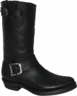 """Star Boot Black Oily Engineer Boots 10"""" W8520"""